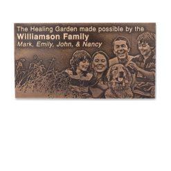 <strong>Cast Bronze Image Plaque</strong>