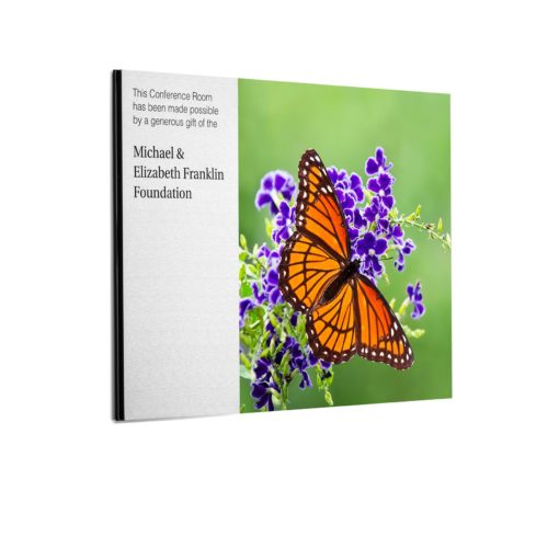 Custom Plaques - Butterfly Image Donor Plaque