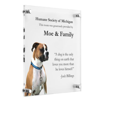 Custom Photo Plaques - Pet Memorial Plaque