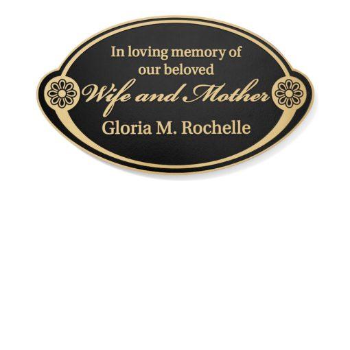 Customized Employee Memorial Plaque