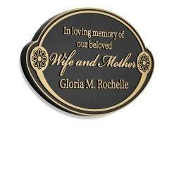 Bronze Memorial Plaque