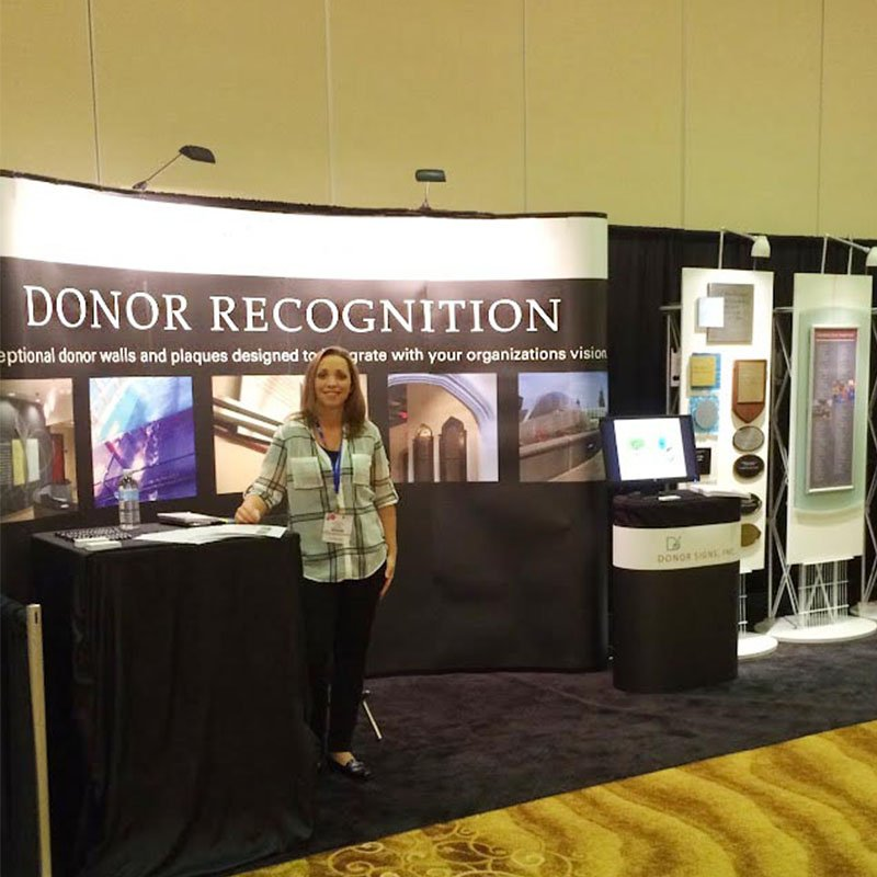Donor Recognition Trade Show