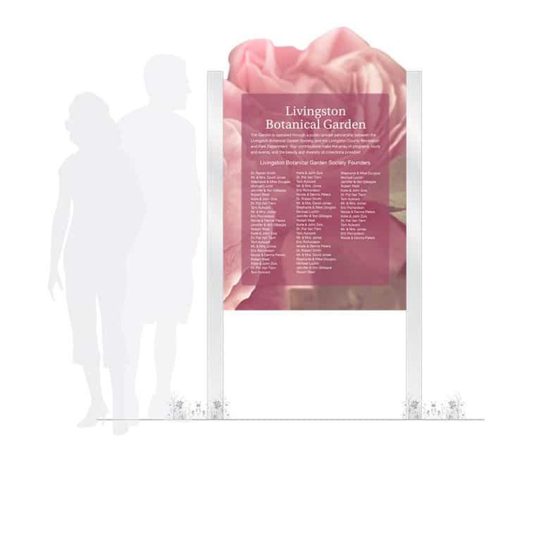 Outdoor Memorial Plaque