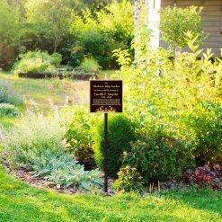 <strong>Garden Memorial Plaque</strong>