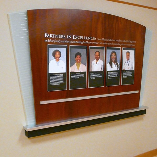 Physician Recognition Display
